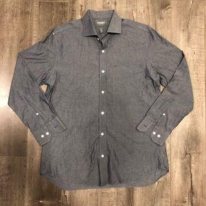 Bonobos Slim Fit Button Down Shirt 16.5 34